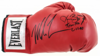 """Mike Tyson & Buster Douglas Signed Everlast Boxing Glove Inscribed """"Tyson KO 2-11-90"""" (Schwartz Sports COA) at PristineAuction.com"""