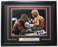 Bernard Hopkins Signed 16x20 Custom Framed Photo (Beckett COA) at PristineAuction.com