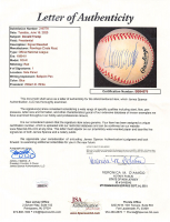 Donald Trump Signed ONL Baseball with Display Case (JSA LOA) at PristineAuction.com
