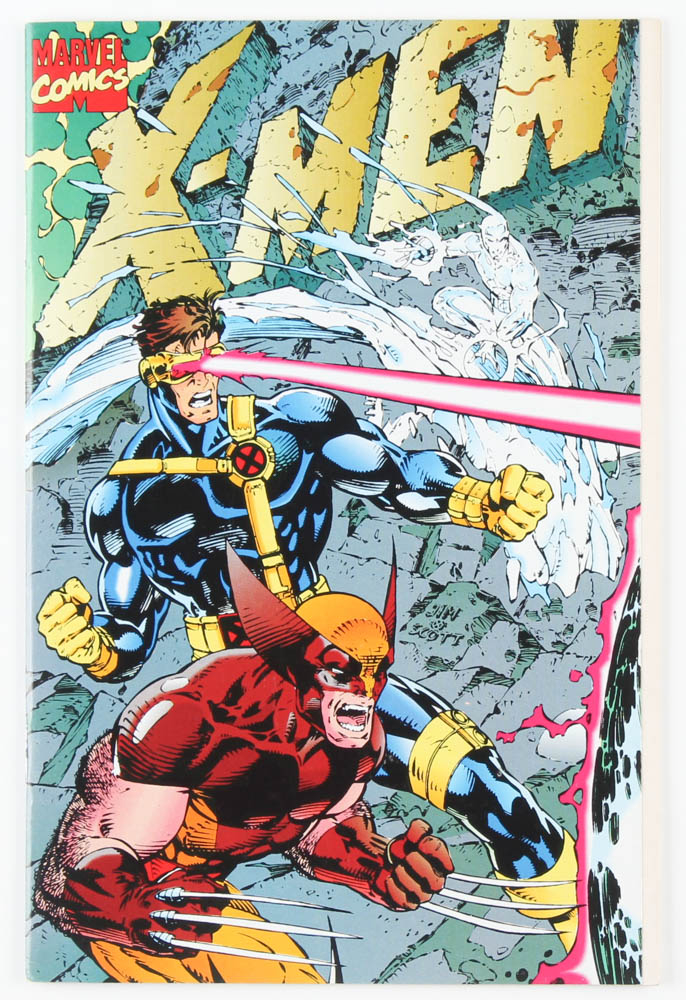 """1991 """"X-Men"""" Issue #1 Collectors Edition Marvel Comic Book at PristineAuction.com"""