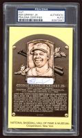 Ken Griffey Jr. Signed HOF Gold Postcard (PSA Encapsulated) at PristineAuction.com