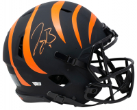Joe Burrow Signed Bengals Eclipse Authentic On-Field Full-Size Speed Helmet (Fanatics Hologram) at PristineAuction.com