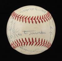 1966 Cubs ONL Baseball Team-Signed by (26) with Randy Hundley, Adolfo Phillips, George Altman, Glenn Beckert, Ron Santo (JSA ALOA) at PristineAuction.com