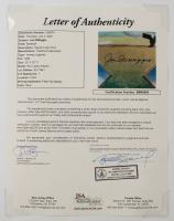 Joe DiMaggio Signed Yankees LE 25x32 Lithograph (DiMaggio Hologram & JSA LOA) at PristineAuction.com