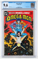 """1982 """"Omega Man"""" Issue #3 DC Comic Book (CGC 9.6) at PristineAuction.com"""