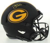 Jordan Love Signed Packers Full-Size Eclipse Alternate Speed Helmet (Beckett COA) at PristineAuction.com