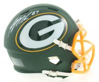 Jordy Nelson Signed Packers AMP Alternate Speed Mini Helmet (JSA COA) at PristineAuction.com