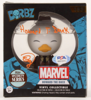"""Ed Gale Signed """"Howard The Duck"""" #183 Dorbz Vinyl Figure Inscribed """"Howard T. Duck"""" (PSA COA) at PristineAuction.com"""