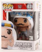 "Hossein Ali Vaziri Signed ""Iron Sheik"" WWE #43 Funko Pop! Vinyl Figure (PSA Hologram & JSA COA) at PristineAuction.com"