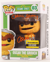 "Caroll Spinney Signed ""Oscar The Grouch"" Sesame Street #03 Funko Pop! Vinyl Figure (PSA COA) at PristineAuction.com"