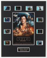"""""""Solo"""" LE 8x10 Custom Matted Original Film / Movie Cell Display at PristineAuction.com"""