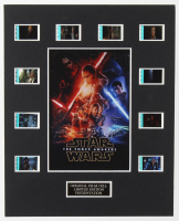 """""""Star Wars Episode VII: The Force Awakens"""" LE 8x10 Custom Matted Original Film / Movie Cell Display at PristineAuction.com"""