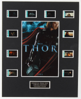 """Thor"" LE 8x10 Custom Matted Original Film / Movie Cell Display at PristineAuction.com"