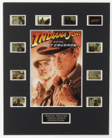 """Indiana Jones & The Last Crusade"" LE 8x10 Custom Matted Original Film / Movie Cell Display at PristineAuction.com"