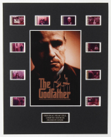 """The Godfather"" LE 8x10 Custom Matted Original Film / Movie Cell Display at PristineAuction.com"