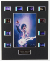 Prince LE 8x10 Custom Matted Original Film / Movie Cell Display at PristineAuction.com