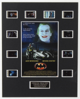 """Batman"" LE 8x10 Custom Matted Original Film / Movie Cell Display at PristineAuction.com"
