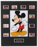 Mickey Mouse LE 8x10 Custom Matted Original Film / Movie Cell Display at PristineAuction.com