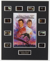 """Star Trek IV: The Voyage Home"" LE 8x10 Custom Matted Original Film / Movie Cell Display at PristineAuction.com"