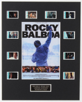 """Rocky Balboa"" LE 8x10 Custom Matted Original Film / Movie Cell Display at PristineAuction.com"