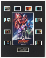 """Avengers: Infinity War"" LE 8x10 Custom Matted Original Film / Movie Cell Display at PristineAuction.com"