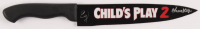 """Ed Gale Signed """"Child's Play"""" Replica Stainless Steel Knife Inscribed """"Chucky"""" (PSA Hologram) at PristineAuction.com"""