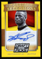 Ken Griffey Jr. 2014 Panini Prizm Perennial Draft Picks Honored Selections Autographs Prizms Gold #1 at PristineAuction.com