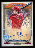 Shohei Ohtani  2020 Topps Gypsy Queen Autographs Bazooka Back #GQASO at PristineAuction.com