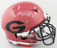 Nick Chubb Signed Georgia Bulldogs Full-Size Authentic On-Field Hydro-Dipped Speed Vengeance Helmet (Beckett COA) at PristineAuction.com
