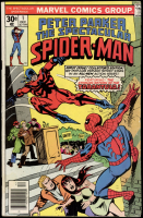 "1976 ""Peter Parker, the Spectacular Spiderman"" Issue #1 Marvel Comic Book at PristineAuction.com"