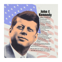 "Steve Kaufman Signed ""John F. Kennedy"" Limited Edition 24x24 Hand Pulled Silkscreen on Canvas #29/50 at PristineAuction.com"
