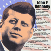 """Steve Kaufman Signed """"John F. Kennedy"""" Limited Edition 24x24 Hand Pulled Silkscreen on Canvas #29/50 at PristineAuction.com"""