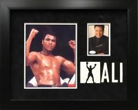 Muhammad Ali Signed 17x21 Custom Framed Photo Display (JSA Hologram) at PristineAuction.com