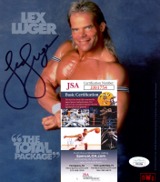 Lex Luger Signed WWE 8x10 Photo (JSA COA) at PristineAuction.com