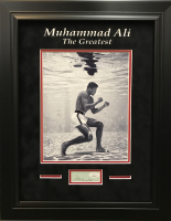 Muhammad Ali Signed 15.5x19.5 Custom Framed Cut Display (JSA LOA) at PristineAuction.com