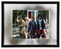 """Keanu Reeves & Alex Winter Signed """"Bill & Ted's Excellent Adventure"""" 12x15 Custom Framed Photo Display (PSA COA) at PristineAuction.com"""