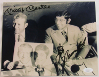 Mickey Mantle & Joe Namath Signed 8x10 Photo (JSA LOA) at PristineAuction.com