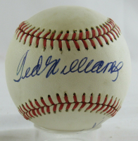 Ted Williams & Carl Yastrzemski Signed OAL Baseball (JSA LOA) at PristineAuction.com