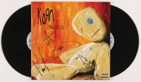 "Reginald Arvizu, Jonathan Davis, James Schaffer & Brian Welch Signed ""Issues"" Vinyl Record Album (PSA Hologram) at PristineAuction.com"