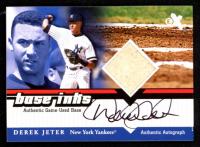 Derek Jeter 2001 E-X #NNO Base Autograph at PristineAuction.com