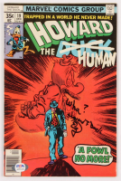"Ed Gale Signed 1977 ""Howard The Human"" Issue #19 Marvel Comic Book Inscribed ""Wha?"" & ""Howard T. Duck"" (PSA Hologram) at PristineAuction.com"