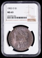 1902-O Morgan Silver Dollar (NGC MS63) (Toned) at PristineAuction.com