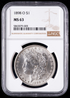 1898-O Morgan Silver Dollar (NGC MS63) at PristineAuction.com