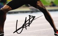Usain Bolt Signed 11x14 Photo (JSA COA) at PristineAuction.com