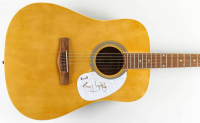 "Randy Travis Signed 40"" Acoustic Guitar Inscribed ""2020"" (PSA COA) at PristineAuction.com"