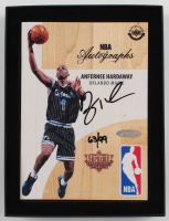Penny Hardaway Signed Game-Used 2016-17 Upper Deck Supreme Hard Court NBA Autographs #ALMAN (UDA COA) at PristineAuction.com