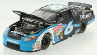 Mark Martin Signed LE #6 Pfizer 2003 Ford Taurus 1:24 Scale Die Cast Car With Owners Series Coin (JSA COA) at PristineAuction.com
