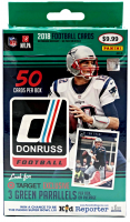 2018 Panini Donruss Football Hanger Box with (50) Cards at PristineAuction.com