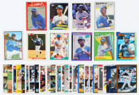Lot of (35) Ken Griffey Baseball Cards with 1989 Fleer #548 RC, 1990 Leaf #245, 1989 Bowman #220 RC, 1992 Bowman #100 at PristineAuction.com
