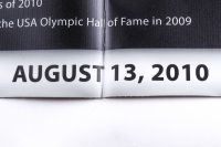 """1992 """"Dream Team"""" 22x28 LE USA Olympic Team Banner Signed by (11) with Larry Bird, Magic Johnson, Scottie Pippen (PSA LOA & BHOF LOA) at PristineAuction.com"""